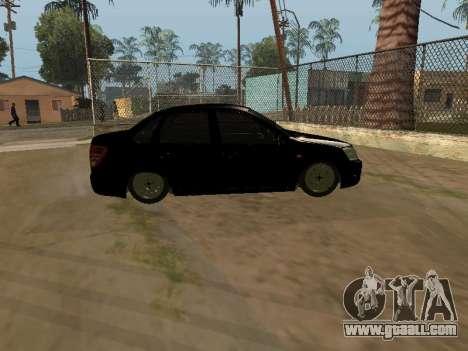 Lada Granta Armenian for GTA San Andreas left view