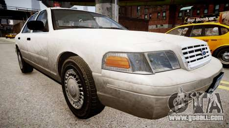 Ford Crown Victoria CVT Detective for GTA 4 right view