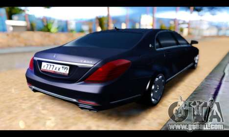 Maybach S400 for GTA San Andreas