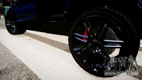 Audi Q7 V12 TDI Quattro Final for GTA 4 back view