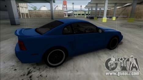 2003 Ford Mustang for GTA San Andreas right view