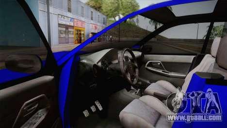 Subaru Impreza Wagon 2004 for GTA San Andreas inner view