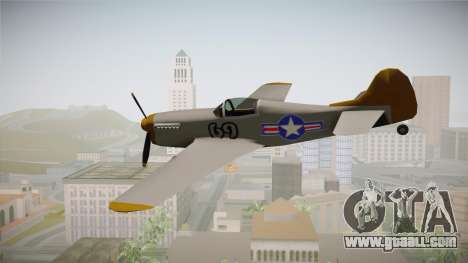 US World War 2 Rustler for GTA San Andreas left view