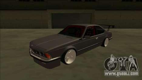 BMW M6 E24 Drift for GTA San Andreas