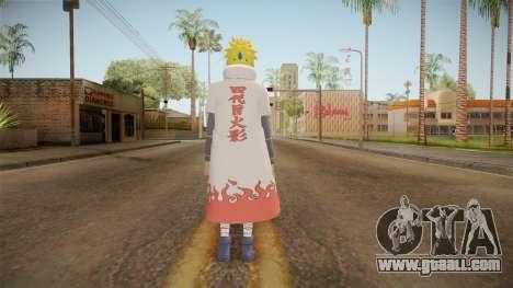 Minato Edo Tensei Hokage Outfit (Sage Mode) for GTA San Andreas third screenshot