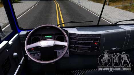 KamAZ 65115 Mixer Truck for GTA San Andreas inner view