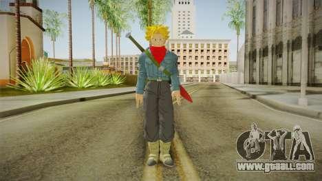 DBX2 - Trunks SSJ2 for GTA San Andreas second screenshot
