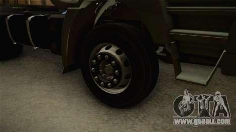 Iveco Trakker Hi-Land 4x2 Cab Low v3.0 for GTA San Andreas back view