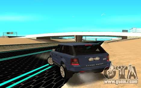 Range Rover Sport for GTA San Andreas back left view