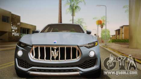 Maserati Levante 2017 for GTA San Andreas