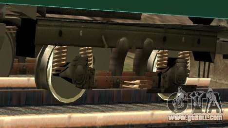 Car type D track recording for GTA San Andreas interior