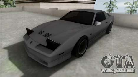 Pontiac Firebird Trans Am for GTA San Andreas