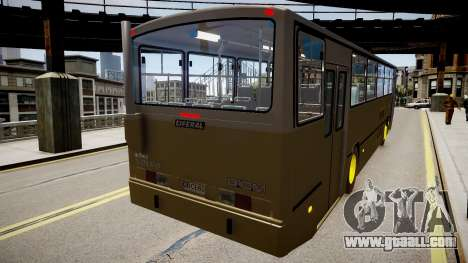Volvo B10M for GTA 4 right view