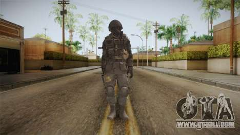 CoD 4: MW Remastered SAS v5 for GTA San Andreas