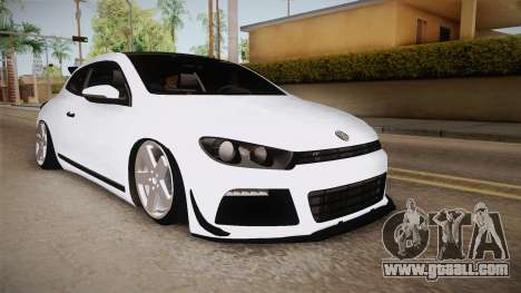 Volkswagen Scirocco Stance Works for GTA San Andreas