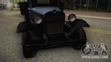 GAZ-AAA 1934 for GTA San Andreas back left view