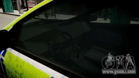 Ford Focus police UK for GTA 4 inner view