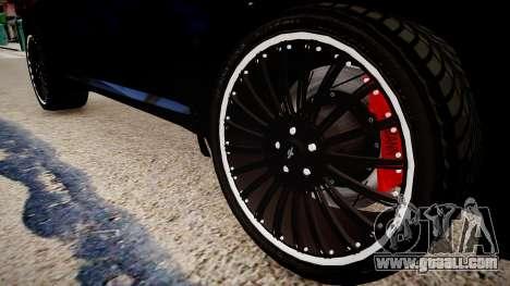BMW X6 Hamann v2.0 for GTA 4 back view