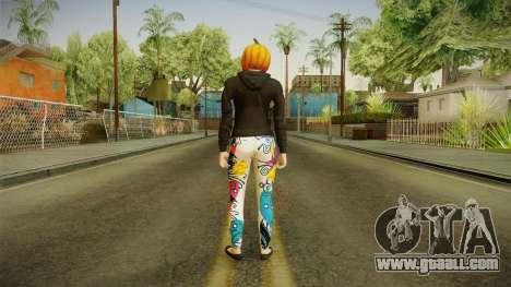 GTA 5 Halloween Skin 1 for GTA San Andreas third screenshot