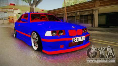 BMW 3 Series E36 Urechea Stelista Edition for GTA San Andreas