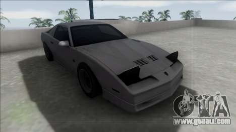 Pontiac Firebird Trans Am for GTA San Andreas right view