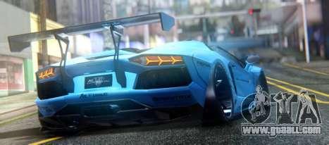 Lamborghini Aventador LP700-4 Roadster 2013 for GTA San Andreas