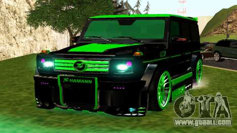 MERCEDES-BENZ G65 GELENDWAGEN AMG for GTA San Andreas