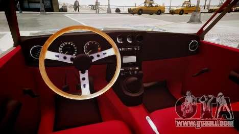 Mazda R10 for GTA 4 inner view