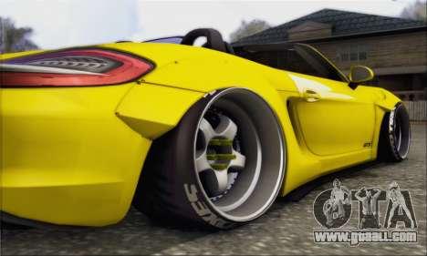 Porsche Boxter GTS L3DWork for GTA San Andreas back view