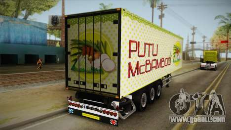 Putu McBamboo Trailer for GTA San Andreas back left view