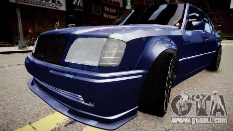 Mercedes-Benz W124 E500 for GTA 4