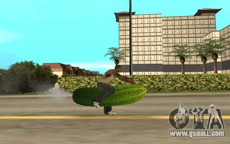 Ogurchik for GTA San Andreas left view