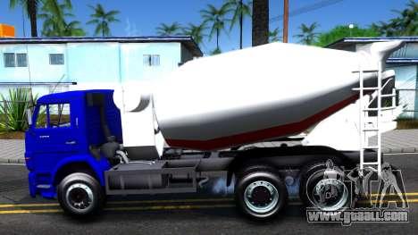 KamAZ 65115 Mixer Truck for GTA San Andreas