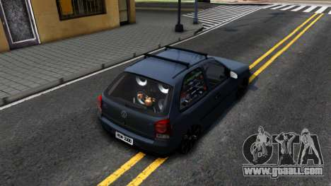 Volkswagen Gol G4 for GTA San Andreas back view