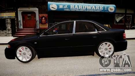 Audi S4 Widebody for GTA 4 left view