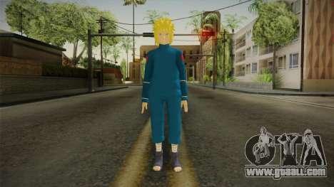 Minato Everyday Clothes for GTA San Andreas second screenshot