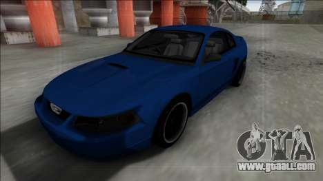 2003 Ford Mustang for GTA San Andreas inner view