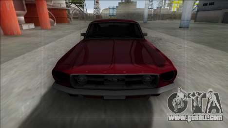 1967 Ford Mustang for GTA San Andreas back view