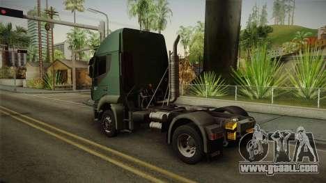 Iveco Trakker Hi-Land 4x2 Cab High v3.0 for GTA San Andreas left view