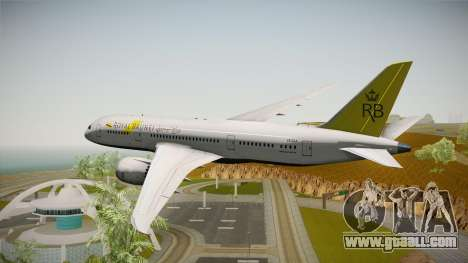 Boeing 787-8 Royal Brunei Airlines for GTA San Andreas right view