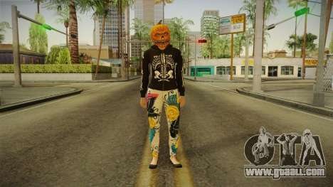 GTA 5 Halloween Skin 1 for GTA San Andreas second screenshot