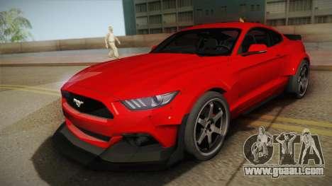 Ford Mustang GT Premium HPE750 Boss 2015 for GTA San Andreas