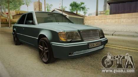 Mercedes-Benz E500 W124 AMG for GTA San Andreas right view