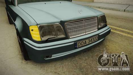 Mercedes-Benz E500 W124 AMG for GTA San Andreas side view