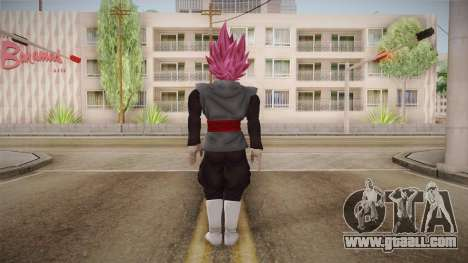 DBX2 - Goku Black SSJR for GTA San Andreas third screenshot