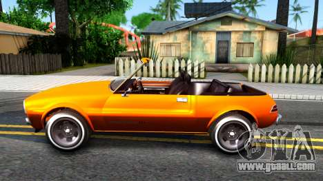 GTA V Declasse Rhapsody Cabrio Style for GTA San Andreas left view