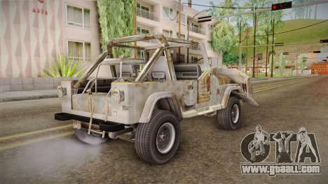 Jeep Wrangler Mad Max Style for GTA San Andreas