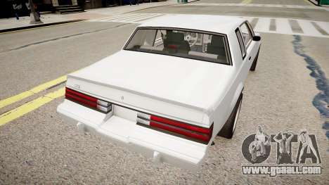Buick Regal Grand National for GTA 4 back left view