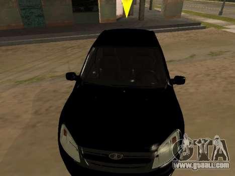 Lada Granta Armenian for GTA San Andreas back view