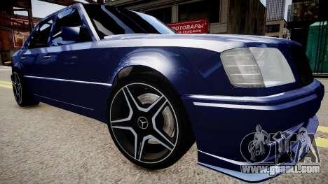 Mercedes-Benz W124 E500 for GTA 4 right view